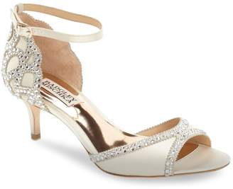 Badgley Mischka 'Gillian' Crystal Embellished d'Orsay Sandal