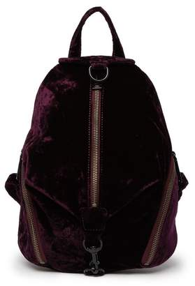 Rebecca Minkoff Medium Julian Velvet Backpack