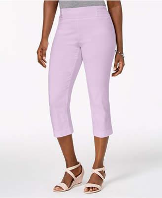 JM Collection Embellished Pull-On Capri Pants