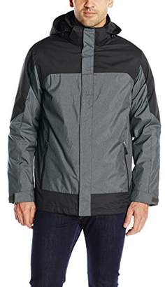 32 Degrees Men's 3-in-1 Systems Color-Block Jacket