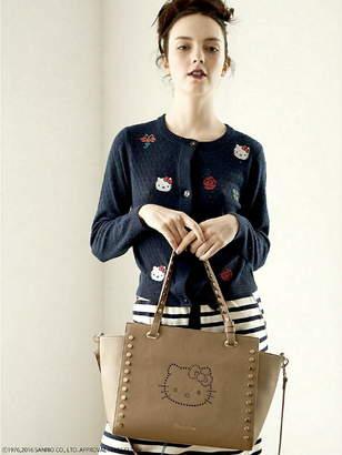 Nina Mew (ニーナ ミュウ) - nina mew ハローキティパンチング レザートートバッグ ニーナミュウ バッグ