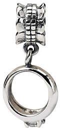Prerogatives Sterling Engagement Ring Dangle Bead