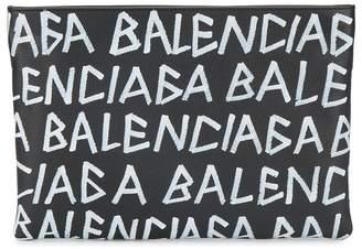 Balenciaga Graffiti City Pouch