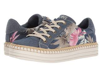 Skechers BOBS from Triple Decker - Tropical Mist Women's Lace up casual Shoes