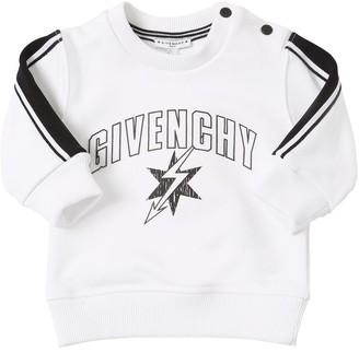Givenchy Logo Printed Cotton Sweatshirt