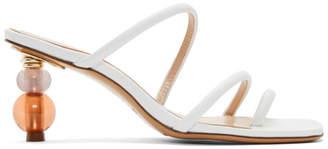 Jacquemus White Les Sandales Noli Sandals