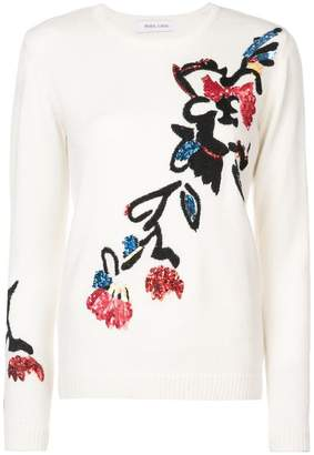 Prabal Gurung floral embroidered sweater