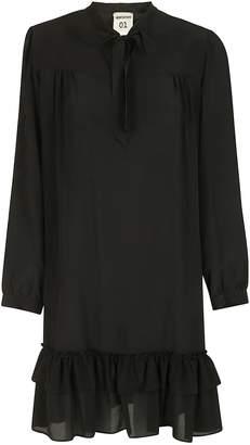 Semi-Couture Semicouture Tie Neck Dress