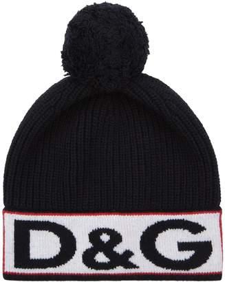 Dolce & Gabbana Logo Bobble Hat