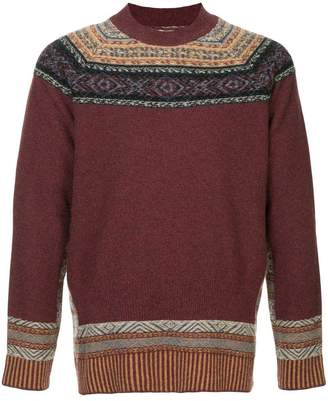 Kent & Curwen patterned sweater