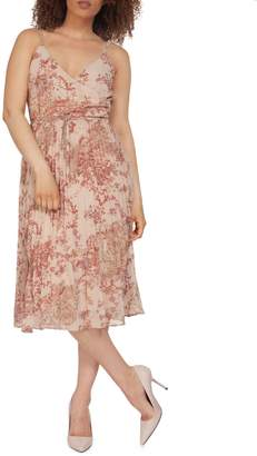 Dex Floral Wrap Dress