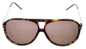 Christian Dior Tinted Aviator Sunglasses