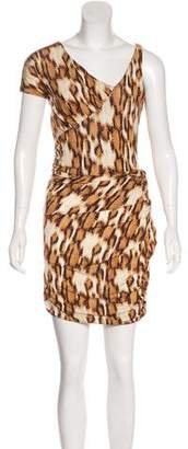 Just Cavalli Snakeskin Print Mini Dress w/ Tags