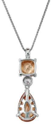 Burgmeister Jewelry JBM1045-421 Cubic Zirconia 45 centimetres Silver Necklace