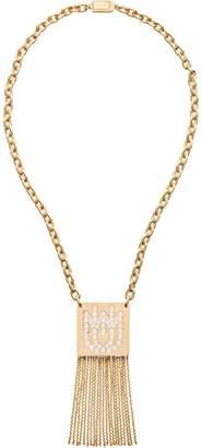 Miu Miu tassel pendant necklace