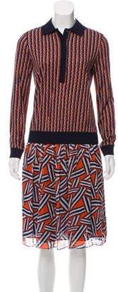 Diane von Furstenberg Carinna Midi Dress w/ Tags