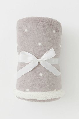 H&M Patterned fleece blanket