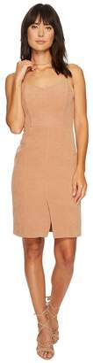 J.o.a. Front Slit Fitted Dress Women's Dress