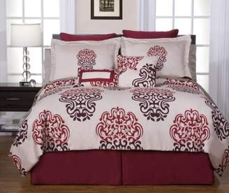 Pointehaven 8-Piece Luxury King Bedding Ensemble