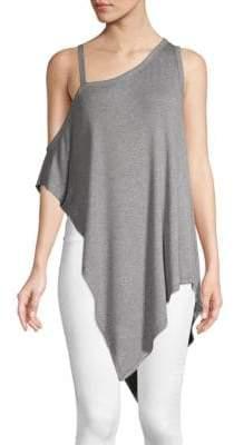 Vimmia Serenity Cold-Shoulder Drape Top