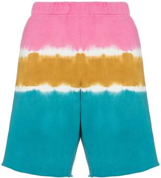 The Elder Statesman dip dye sweat shorts