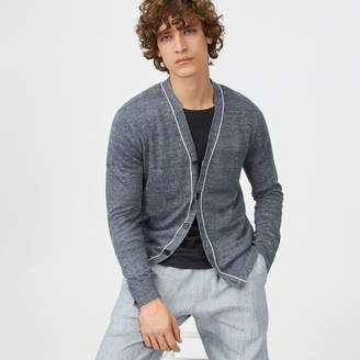 Club Monaco Lightweight Linen Cardigan