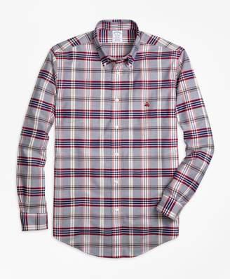 Brooks Brothers Non-Iron Regent Fit Tartan Sport Shirt