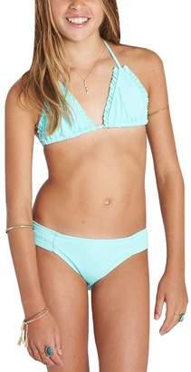 Billabong Sol Searcher Triangle Bikini Set - Girls'