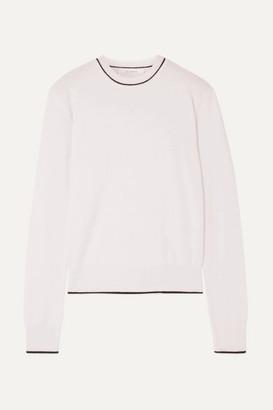 La Ligne Neat Wool And Cashmere-blend Sweater - Cream