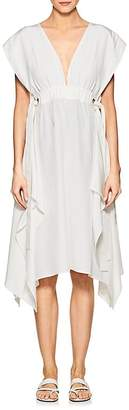 Derek Lam Women's Silk Crepe Wrap Dress