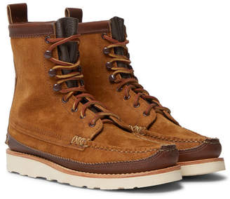 Yuketen Maine Guide DB Leather Boots - Men - Brown