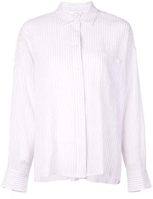 Vince striped relaxed shirt
