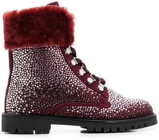 Philipp Plein Crystal boots