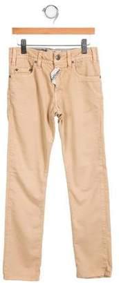 John Galliano Girls' Embellished Straight-Leg Pants