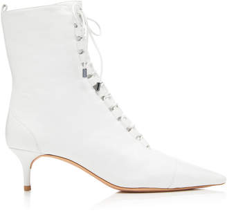 Alexandre Birman Millen Lace-Up Leather Boot