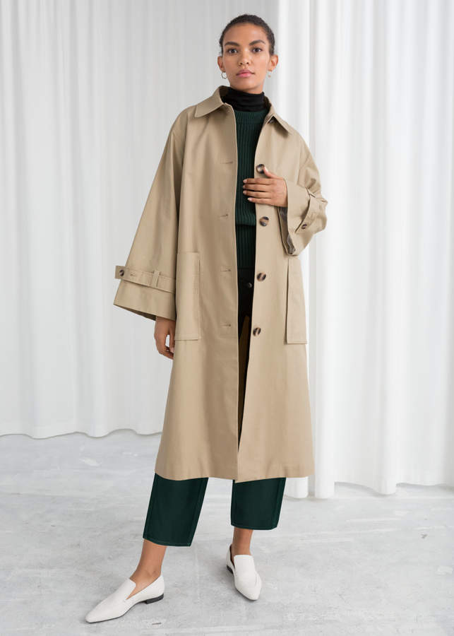 Oversized Utilitarian Trenchcoat