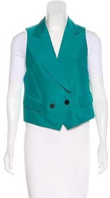 3.1 Phillip Lim Asymmetrical Peaked-Lapel Vest