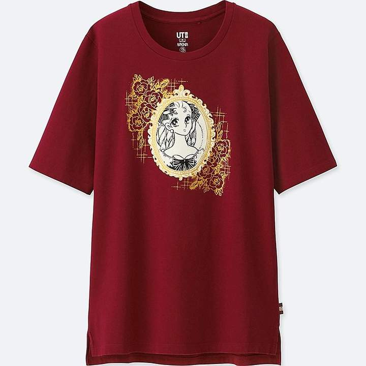 UNIQLO Women's The Rose Of Versailles Graphic T-Shirt