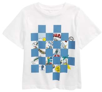 Stella McCartney Arrow Checkered Cartoon T-Shirt