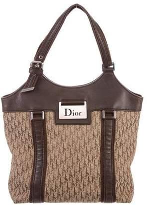 Christian Dior Leather-Accented Diorissimo Tote