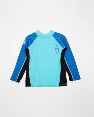 Rip Curl Grom Undertow Long Sleeve UV Tee Rash Vest - Kids