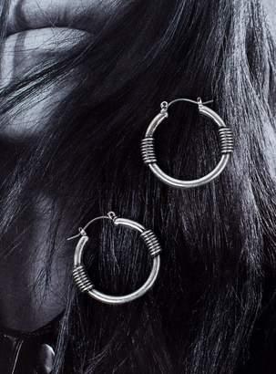 Dakota Minc Collections Hoops Silver