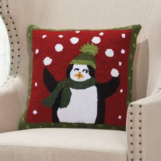 Original Penguin Mina Victory Home for the Holidays Juggling Throw Pillow