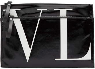 Valentino Black Garavani VLTN Zip Pouch
