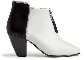 Nine to Five - Western Bootie Samariter Grey Black