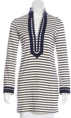 Tory Burch Striped Knit Tunic