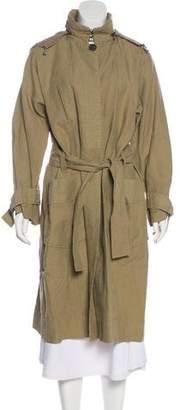 Etoile Isabel Marant Linen-Blend Coat