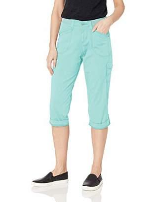 Lee Women's Petite Flex-to-Go Relaxed Fit Cargo Capri Pant