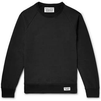 Wacko Maria Slim-Fit Printed Loopback Cotton-Jersey Sweatshirt