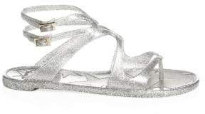 Jimmy Choo Lance Jelly Gladiator Sandals